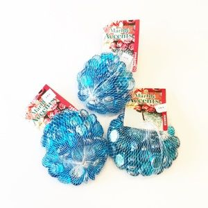 Other - 🛍 3 Ice Blue Lustre Gem Bags